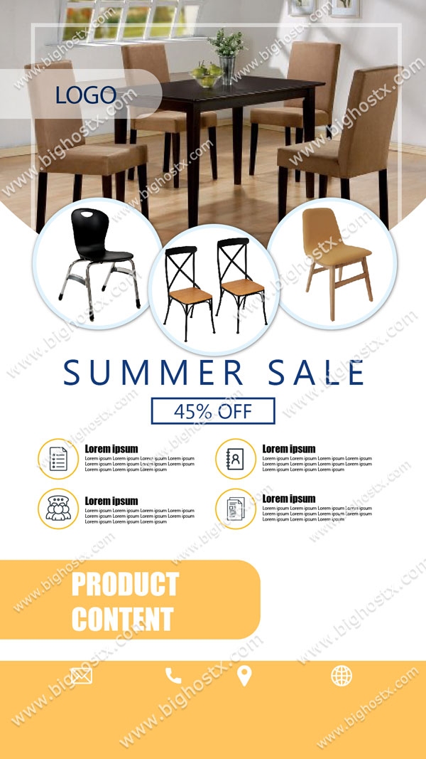 Corporate Business Flyer Design for Sales Promotion